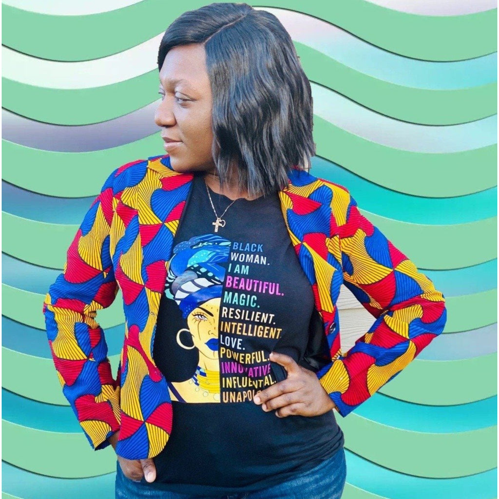 Black Woman Tee - Abike Oyedele