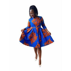African Print Dress: Yode - Abike Oyedele