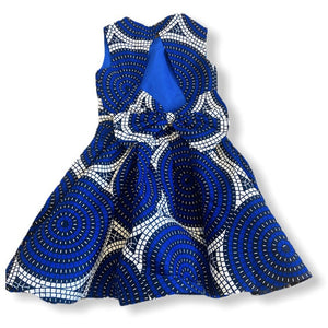 African Print Ife Girl's Dress - Abike Oyedele