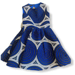 Load image into Gallery viewer, African Print Ife Girl's Dress - Abike Oyedele