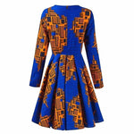 Load image into Gallery viewer, African Print Dress: Yode - Abike Oyedele
