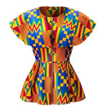 Load image into Gallery viewer, African Print Top: Ope - Abike Oyedele