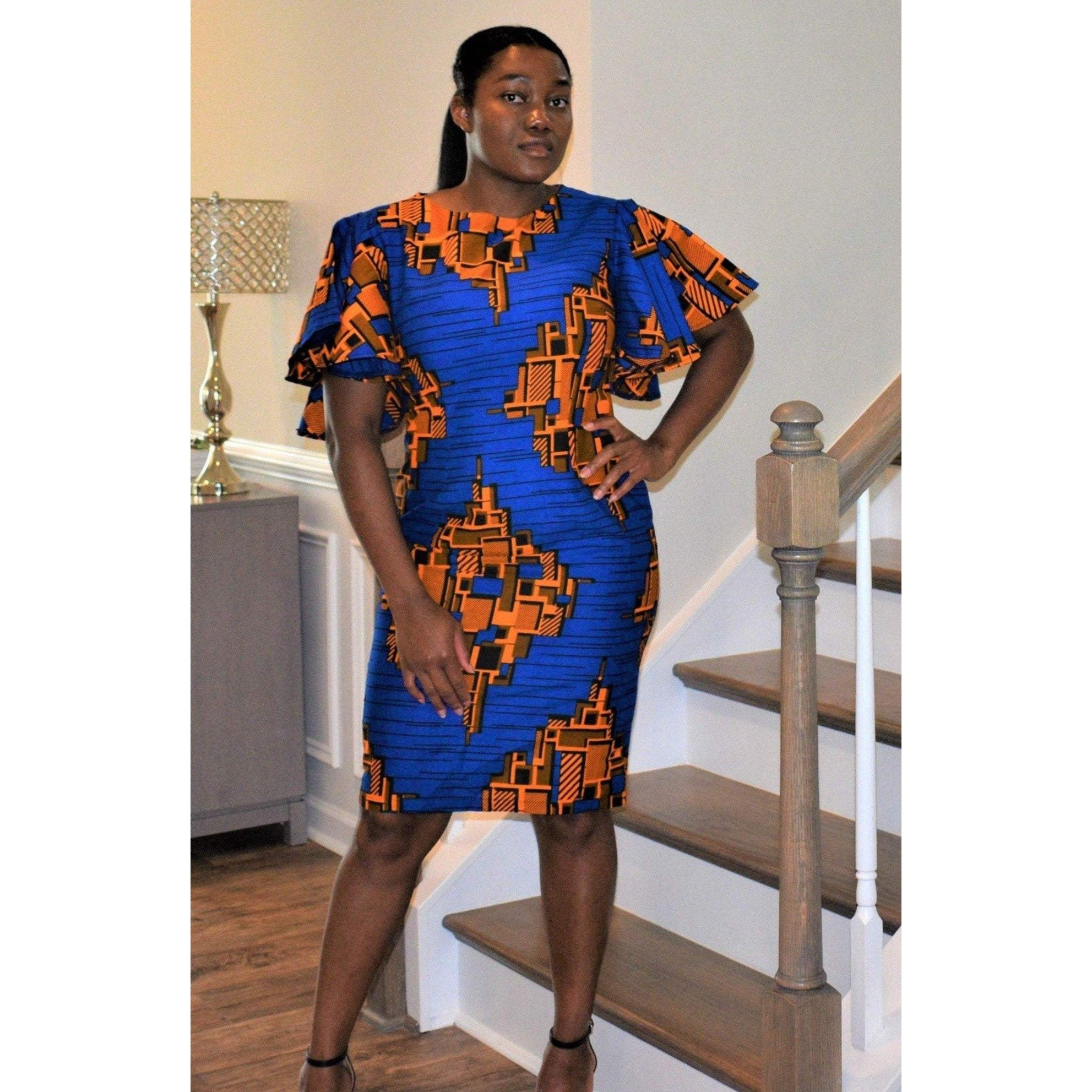 African Print Dress: Joy - Abike Oyedele
