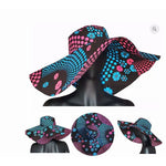Load image into Gallery viewer, African Print Moji Hat - Abike Oyedele