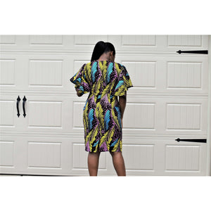 African Print Dress: Julie - Abike Oyedele