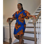 Load image into Gallery viewer, African Print Dress: Joy - Abike Oyedele