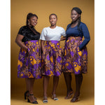 Load image into Gallery viewer, African Print Skirt: Moji - Abike Oyedele