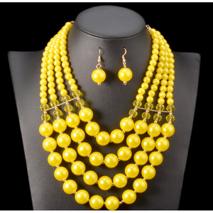 Fashion Necklace Set: Fikemi - Abike Oyedele