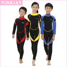 Load image into Gallery viewer, 2.5MM Neoprene Wetsuits Swimwears for Boys & Girls