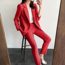 Load image into Gallery viewer, 2 Piece Women Business Suit  (Autumn)