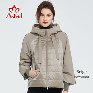 Astrid Spring Women Coat Outwear Casual Fashion High Quality Warm Thin Cotton