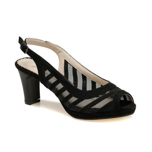 FLO 91.313147.Z Black Women Shoes Polaris