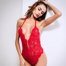 Load image into Gallery viewer, Women Sexy 3 Colors One Piece Transparent Lingerie