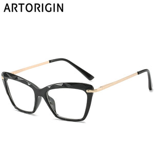 Chic Butterfly Optical Plastic Frame Transparent Clear Glasses For Women
