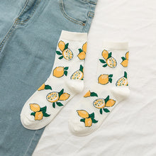 Load image into Gallery viewer, Women Summer Cartoon Fruit Cotton Korean Version of Socks