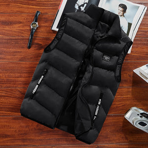 Men's Spring Thermal Soft Vest Thicken Waistcoat