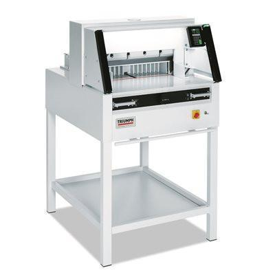 "Ideal-MBM Triumph 5260 Automatic Programmable 20 3/8"" Cutter with Stand, side tables & VRCut package"