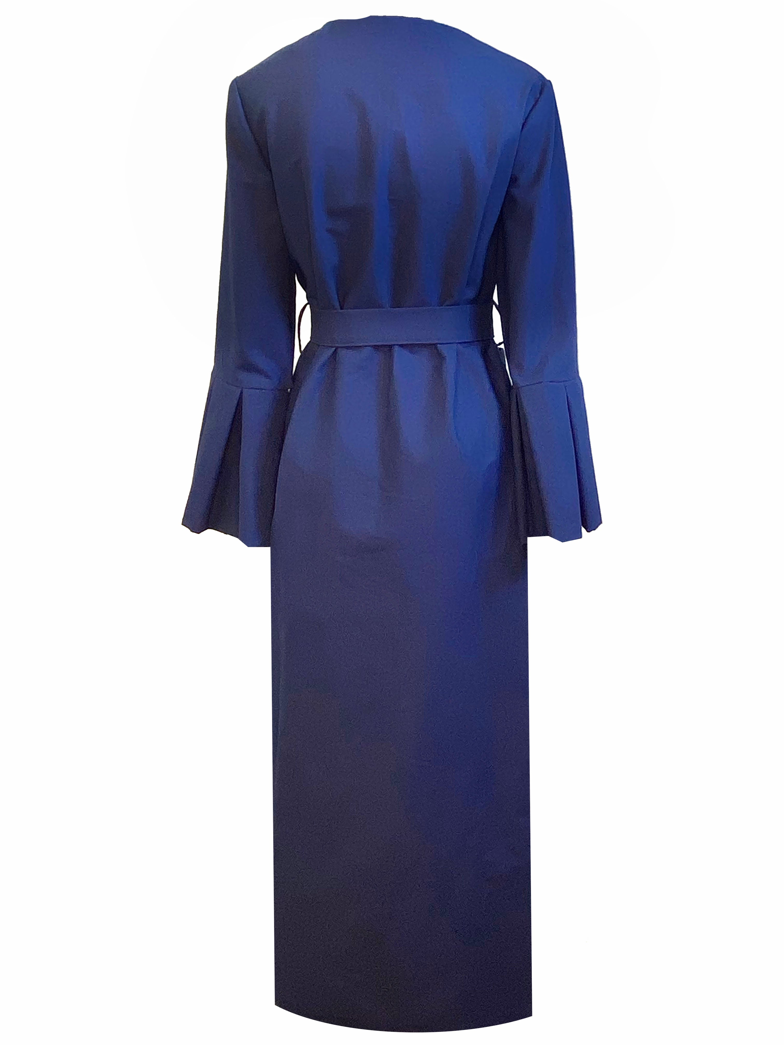 Navy Luxe Robe
