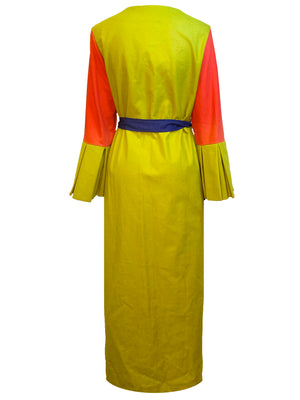 Love & Osker Color Block Luxe Robe (Back View)