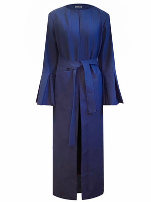 Open image in slideshow, Navy Luxe Robe