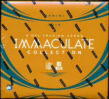 Load image into Gallery viewer, 2019 Panini Immaculate Football Hobby Box