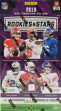 Load image into Gallery viewer, 2019 Panini Rookies & Stars Football Hobby Box