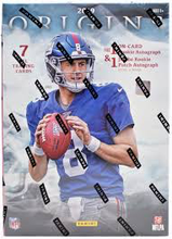 Load image into Gallery viewer, 2019 Panini Origins Football Hobby Box