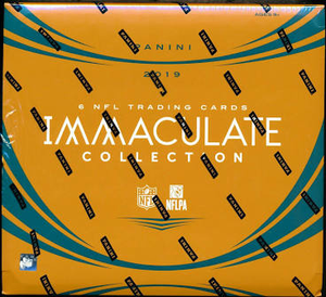 2019 Panini Immaculate Football Hobby Box
