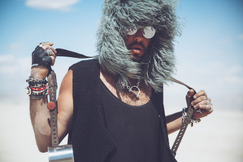 Maor Cohen - Burning Man 2015 Outfit