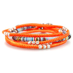 Coachella Fashion - Layered Bracelets by M. Cohen of Los Angeles
