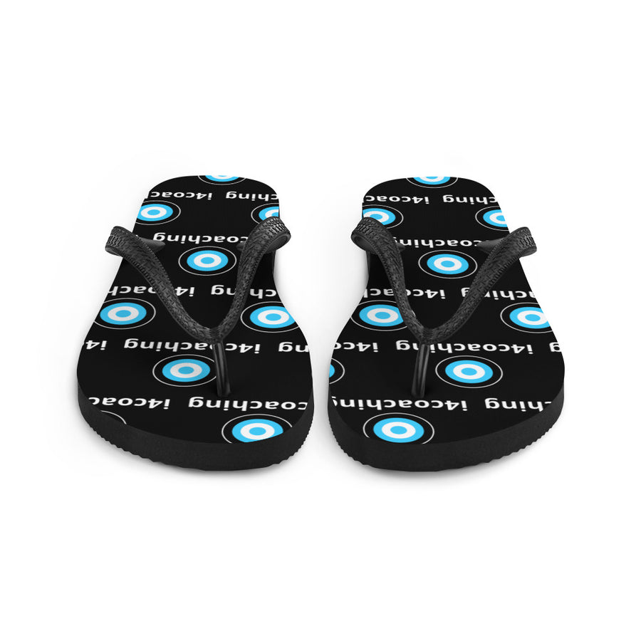 i4 Coaching printed flip-flops for men and women