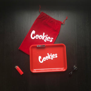 LED Glow Tray (Cookies) - Red