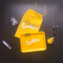 Load image into Gallery viewer, Cookies Glow Tray Gift Set w/ Trunk Pipe - Yellow