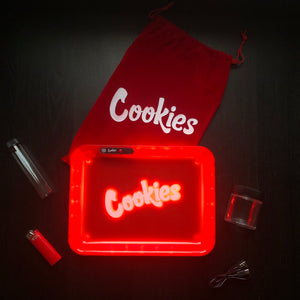 LED Glow Tray Gift Set (Cookies) - Red