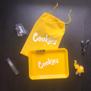 Cookies Glow Tray Gift Set w/ Trunk Pipe - Yellow