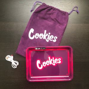 LED Glow Tray (Cookies) - Purple