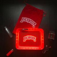Load image into Gallery viewer, LED Glow Tray Gift Set (Backwoods) - Red