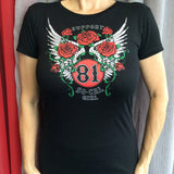 Women Support Roses T Shirt - So Cal Clothing