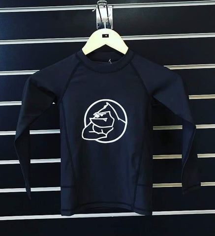 Youth Black Rashguard