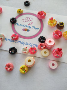 Donut Charms 10PCS