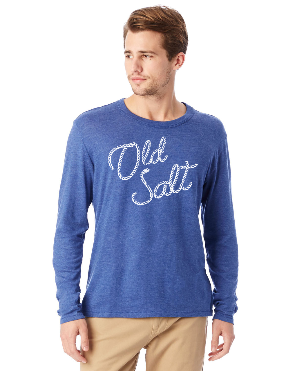 Old Salt Unisex Long Sleeve Shirt - Slack Tide Sea Salt