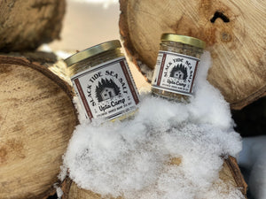 """Upta Camp"" Applewood Smoked Sea Salt - Slack Tide Sea Salt"