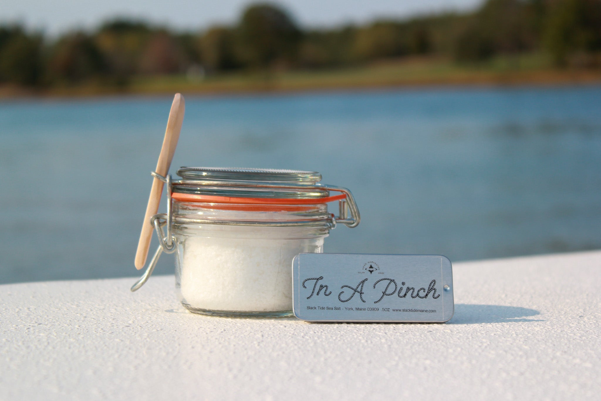 In A Pinch Salt Tin (.5 oz) - Slack Tide Sea Salt