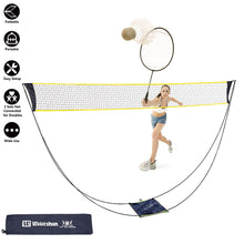 Load image into Gallery viewer, Portable Badminton Training Net