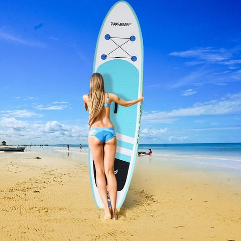 10 FT Inflatable Brushed Paddle Board Surfboard