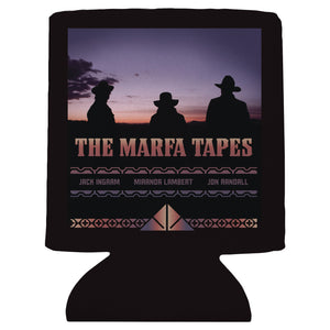 "Can hugger front with ""The Marfa Tapes"" and image of Jack Ingram, Miranda Lambert, and Jon Randall."