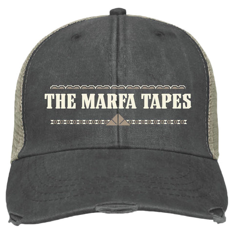 "Cap front with ""The Marfa Tapes"""
