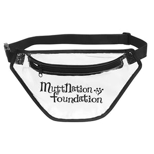 MuttNation Clear Fanny Pack