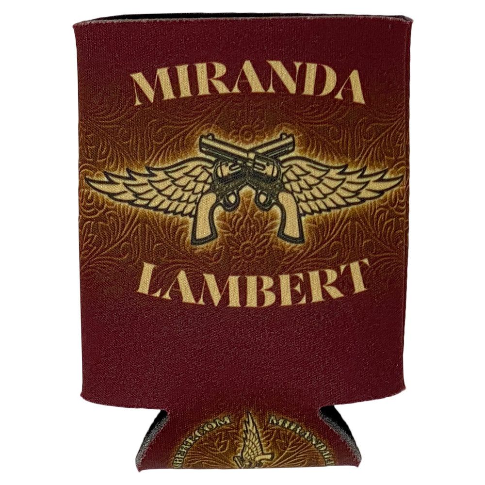 """Miranda Lambert"" with guns and wings logo"