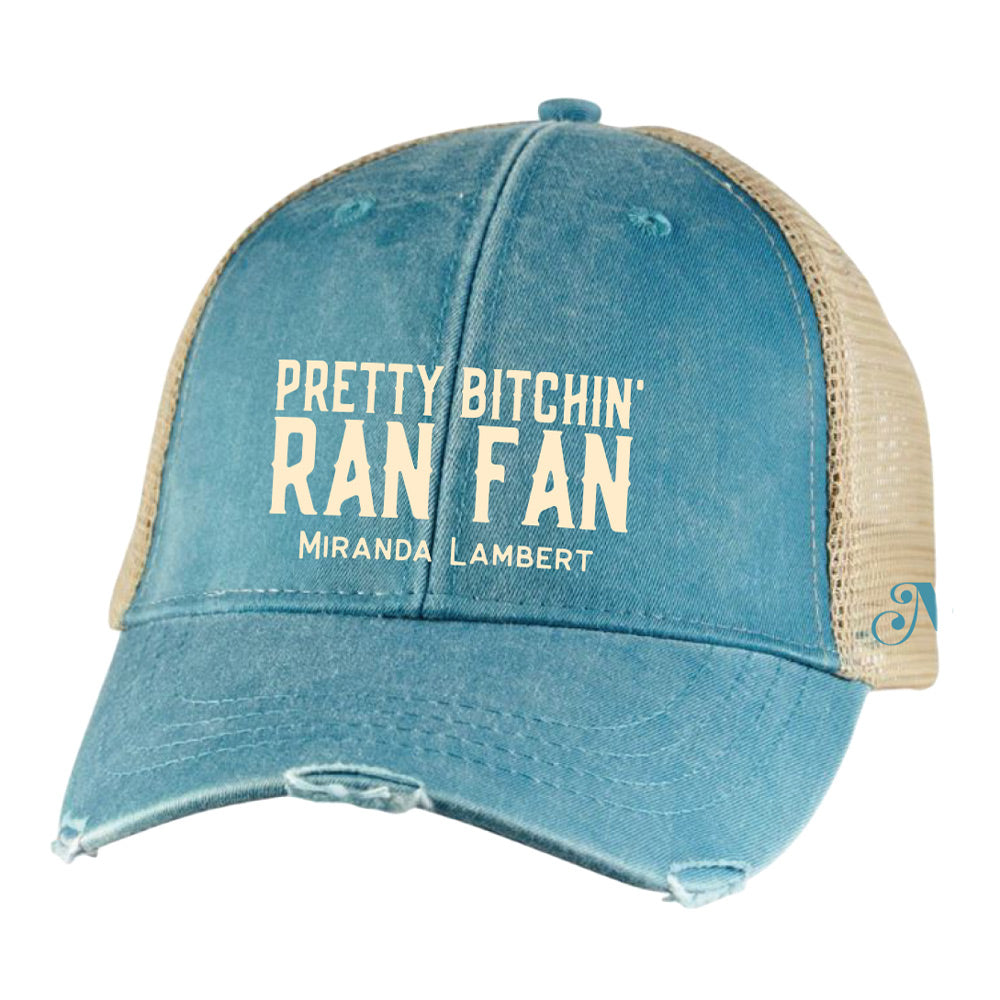 Ran Fans Exclusive Pretty Bitchin' Fan Cap